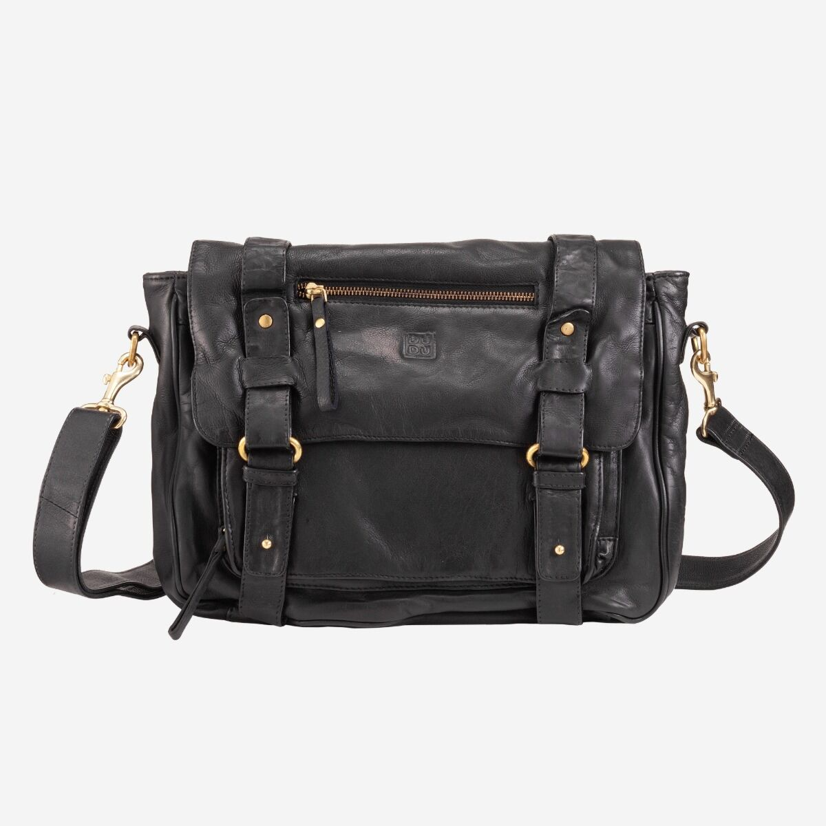 Messenger Bag Vintage Leder Damen