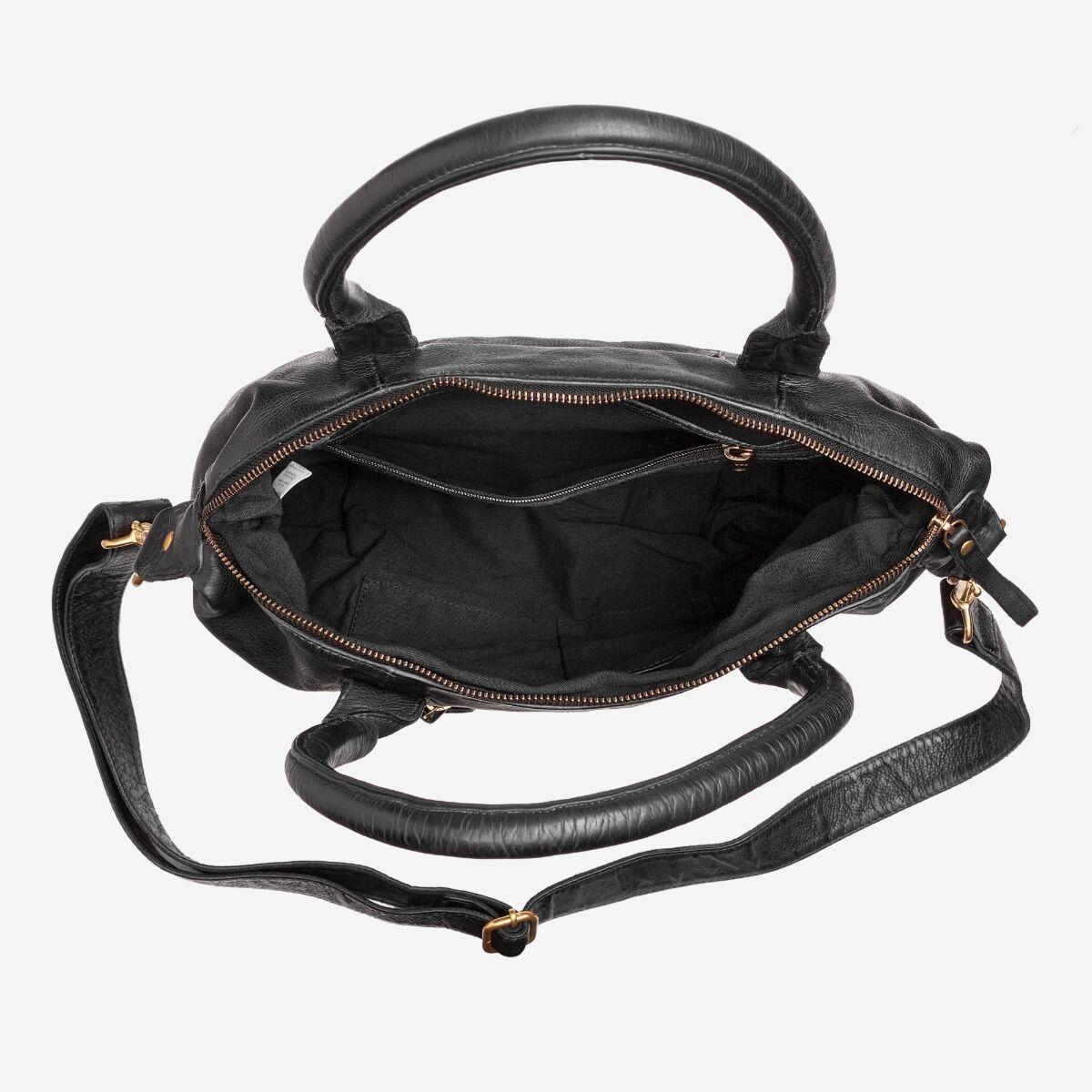 Umhängetasche Damen Vintage aus Leder
