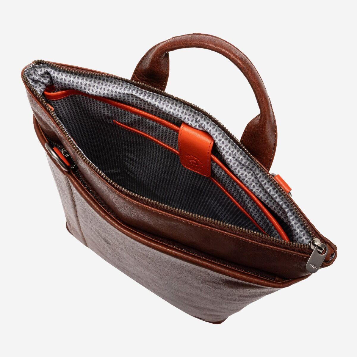 Laptop-Rucksack/Tasche für Herren aus Leder