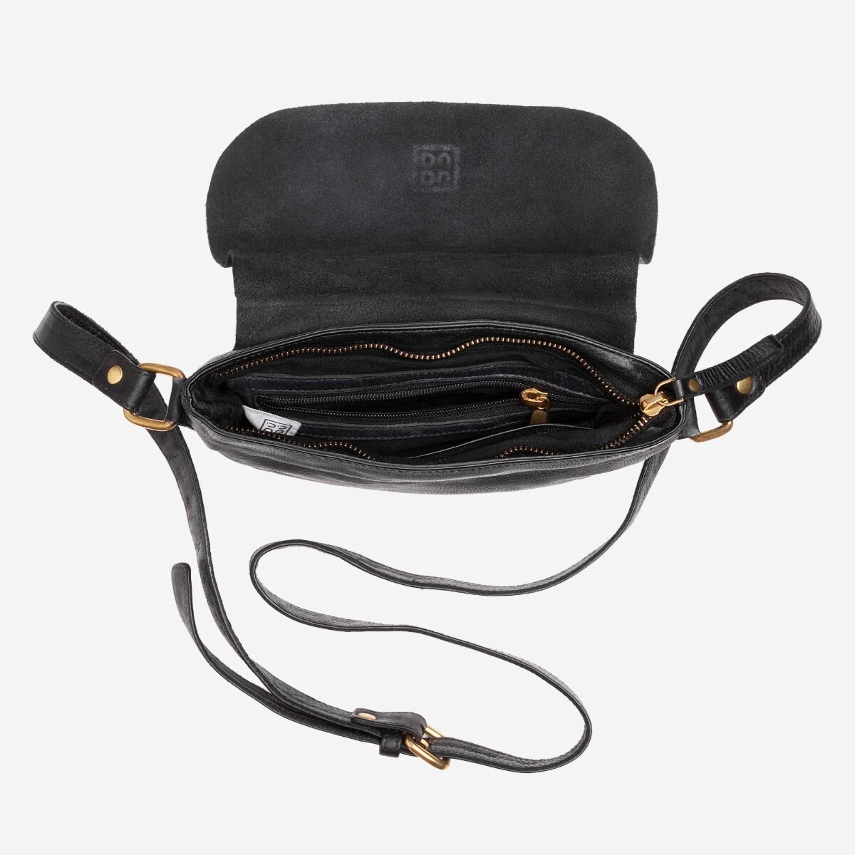 mini borsa tracolla pelle vintage
