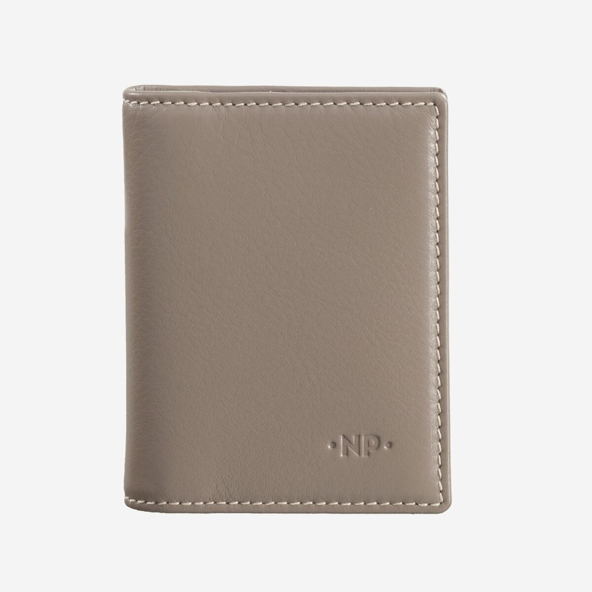 Kreditkartenetui aus schwarzem Leder