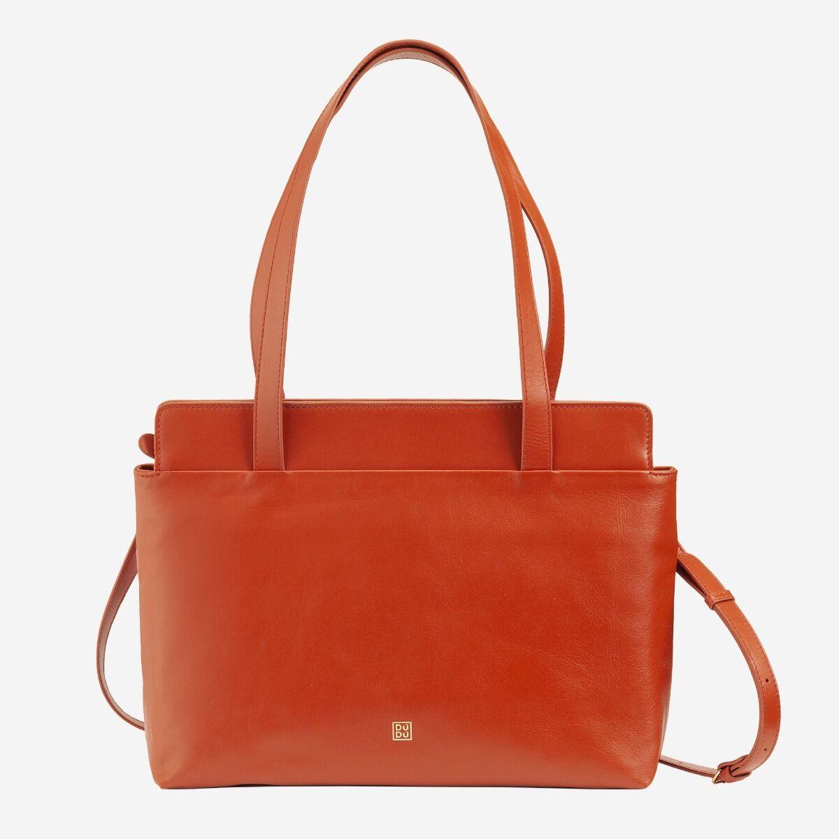 Shopping Bag weiches Leder