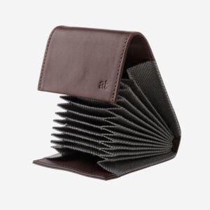porta carte di credito a fisarmonica