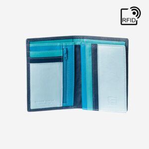 portafoglio rfid verticale