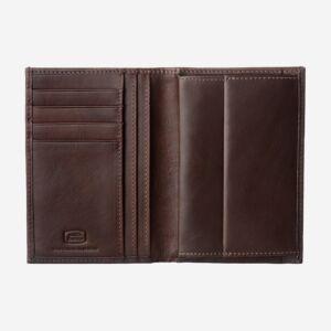 portafoglio uomo verticale con portamonete