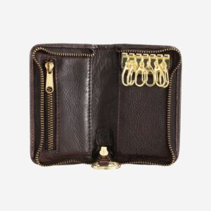 580-1118 Timeless - Key holder - Cocoa Brown