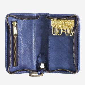 580-1118 Timeless - Key holder - Indigo Blue