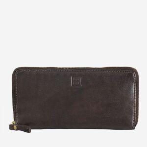 Damenbrieftasche groß mit außenliegendem Reißverschluss
