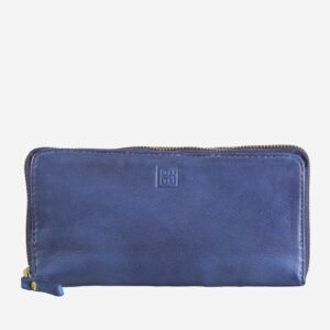 580-1334 Timeless - Wallet - Indigo Blue