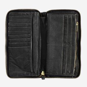 580-1334 Timeless - Wallet - Black Slate