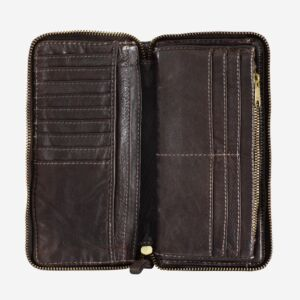 580-1334 Timeless - Wallet - Cocoa Brown