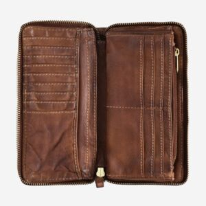 580-1334 Timeless - Wallet - Onyx Brown