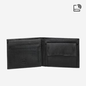 portafoglio rfid uomo pelle con portamonete