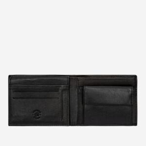 portafoglio uomo pelle con doppia tasca portafoto
