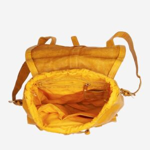 580-1148N Timeless - Backpack - Saffron Yellow
