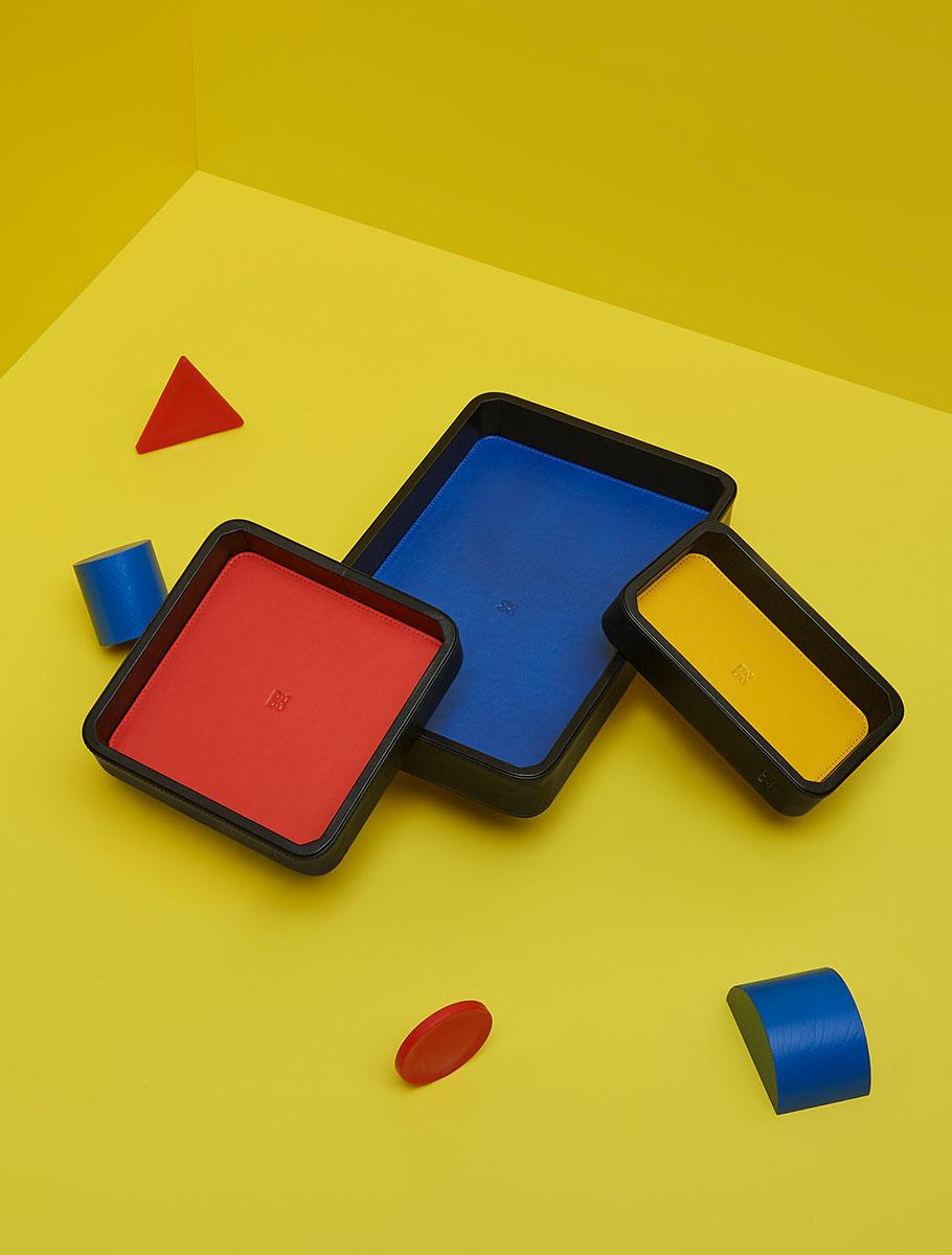 Colorful - Mondrian - Black